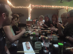 Women of NAB sushi!