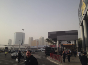 sandstorm in Vegas