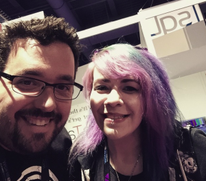 meeting Sean from the awesome Rampant Designs at NAB!