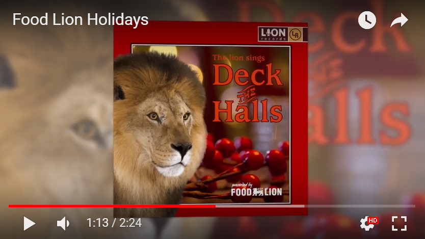 Food Lion Holiday